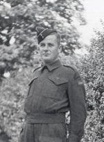 Photo of Gérard Nadeau– Private Gérard Nadeau, Lac Mégantic, Régiment de la Chaudière