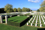 Beny-Sur-Mer Canadian War Cemetery– The Beny-sur-Mer Canadian War Cemetery, located at Reviers, about 4  kilometres from Juno Beach in Normandy, France. (J. Stephens)