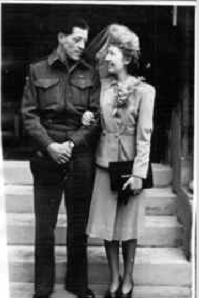 Photo of LLOYD LESLIE PAULSON– Lloyd and Gloria. Submitted for the project Operation Picture Me