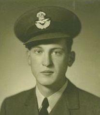 Photo of John Peacock– Flight Lieutenant Navigator John Williamson Frederick Peacock courtesy McGill University archives