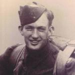 Photo of John Simpson– LSgt John M. Simpson, QOR of C, 1944