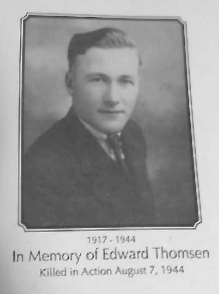 Photo of EDWARD THOMSEN– Submitted for the project Operation Picture Me