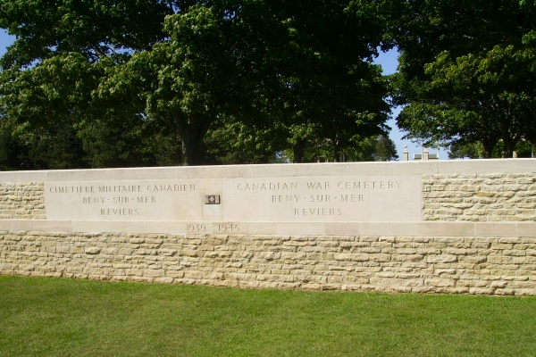 Cemetery– Beny-sur-Mer Canadian War Cemetery - August 2012