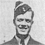 Photo of Thomas Hartley Dibb– Enlisted in February 1941, navigator on a Wellington bomber of #38 RAF Squadron sent to bomb the harbour at Candia, Crete, on June 2, 1944 and failed to return from mission.