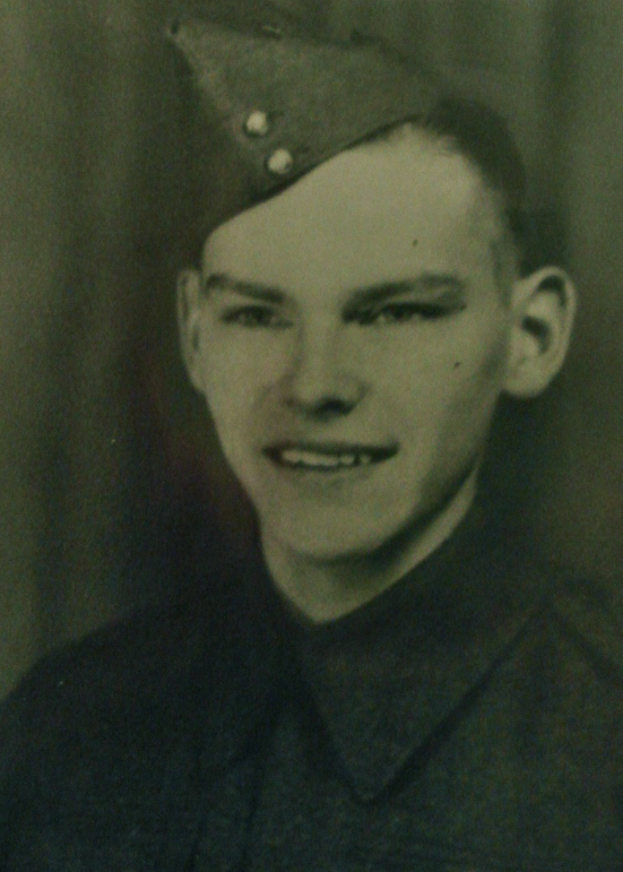 Photo of Edward Hoy– In memory of the students from Western Technical School, Toronto who served during World War II and did not return. Submitted for the project, Operation: Picture Me.
