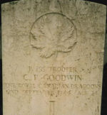 Grave Marker– Photo courtesy of Thomas L. Skelding