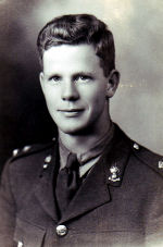 Photo of George Burbidge– Photo submitted for the project Operation Picture Me with the permission of McGill University from their web site, 'McGill Remembers'