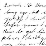 Letter from Archie - page 2– This letter was sent from Archie to his brother-in-law in December 1942.