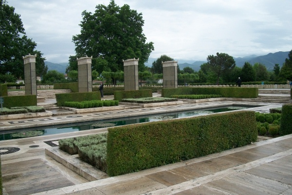 Memorial– Cassino Memorial - located within the Cassino War Cemetery - May 2013