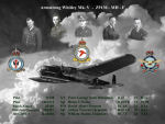 Memorial Photo– The crew of Z9130 - Montage created by Martyn, 51 Squadron History