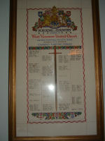 West Vancouver United Church Honour Roll