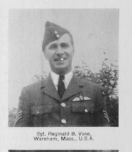 Photo of Reginald Bolles Vose