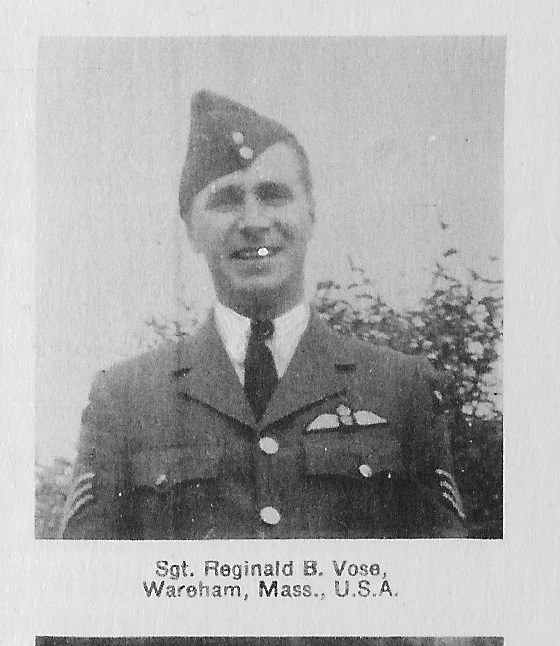 Photo of Reginald Bolles Vose– Submitted for the project, Operation Picture Me