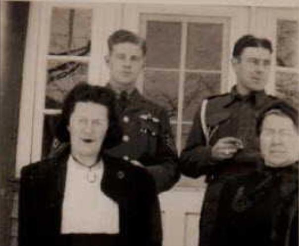 Group Photo (L-R Doris, Ernie, Art and Virginia)