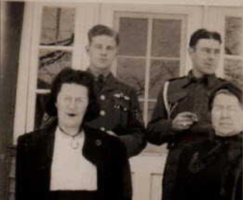 Group Photo (L-R Doris, Ernie, Art and Virginia)– Submitted for the project, Operation Picture Me