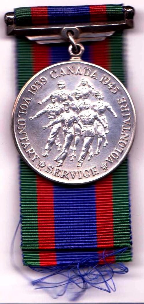 Canadian Volunteer Service Medal (CVSM)