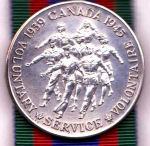 Canadian Volunteer Service Medal (CVSM)– David Powley's medal Canadian Volunteer Service Medal (CVSM)