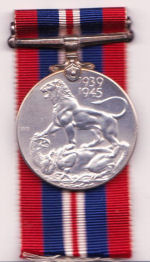 Medal– David Powley's medals WW-2 Service Metal