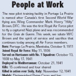 Newspaper Clipping– Source:  The Maple Leaf,  3 October 2007, Vol. 10 No. 29