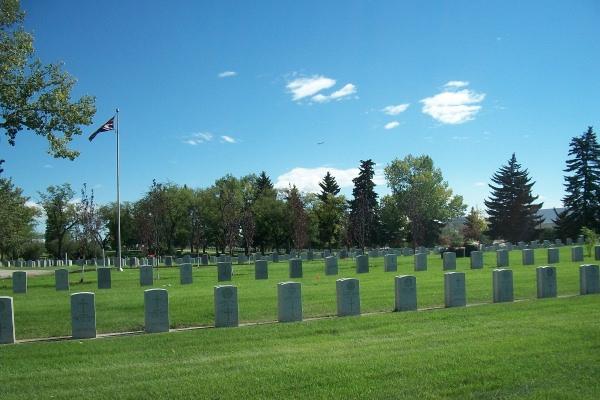 Calgary Burnsland Cemetery– Photo courtesy of Marg Liessens