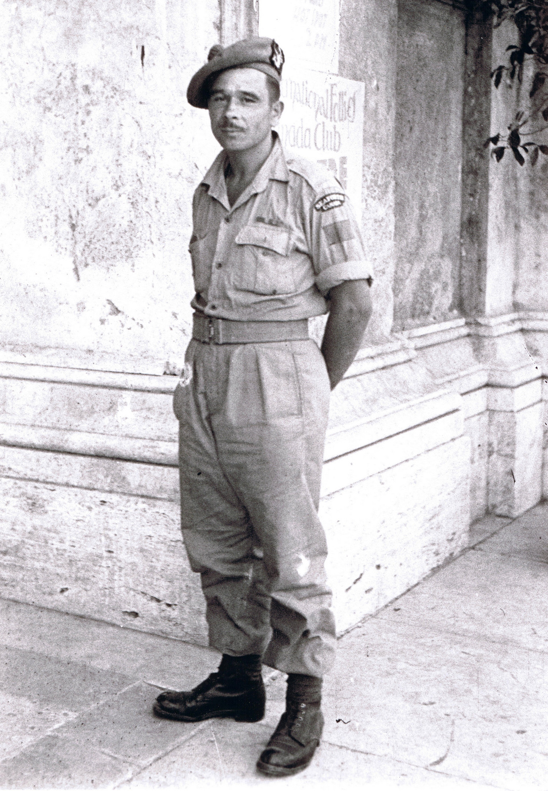 Photo of James Harasymchuk– circa 1942.