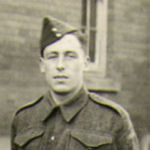 Photo of Lawrence MacDonald– Cpl. L.J. MacDonald c4182 H & P.E. Regt H.Q. Co #1 plt England