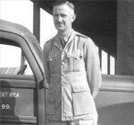 Photo of FORBES THOBURN MCINTOSH– 6th Field regiment RCA Shilo, Manitoba 1940