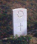 Grave marker for E.S. Macleod
