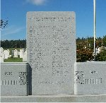 Springbrook War Memorial– This war memorial is located in Springbrook, Prince Edward Island.