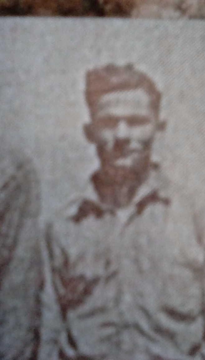 "Photo of Allan Aldoma ""Aldome"" Scully– Taken at Black Donald Akr Mines, Ontario, Canada."