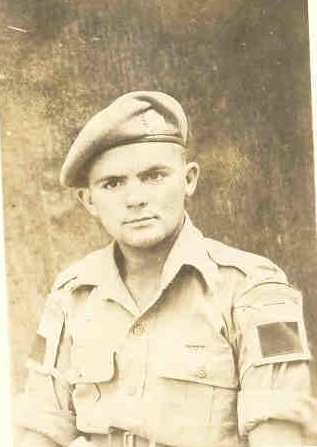 Photo of Keith Reginald Williams– Submitted for the project Operation: Picture Me Keith Reginald Williams. Killed in action at Melfa River, Italy