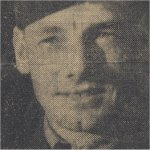 Photo of Robert Fitzgerald Conroy– Robert Fitzgerald Conroy in The Halifax Mail in April 1943.
