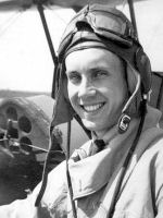 Photo of Gregory Ross Bourdon– Greg Bourdon at flying school in 1941.