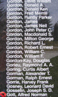 Memorial– Warrant Officer Class II Alfred Norman Gott is also commemorated on the Bomber Command Memorial Wall in Nanton, AB … photo courtesy of Marg Liessens