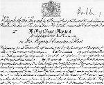 Certificate– George Sixth Certificate