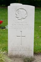 Grave marker– CHURCHILL, BRUCE WILBUR died from an accident with a Bren machine gun in the area of Hulst, Netherlands.  https://commonwealth-adegem.com/churchill-bruce-wilbur