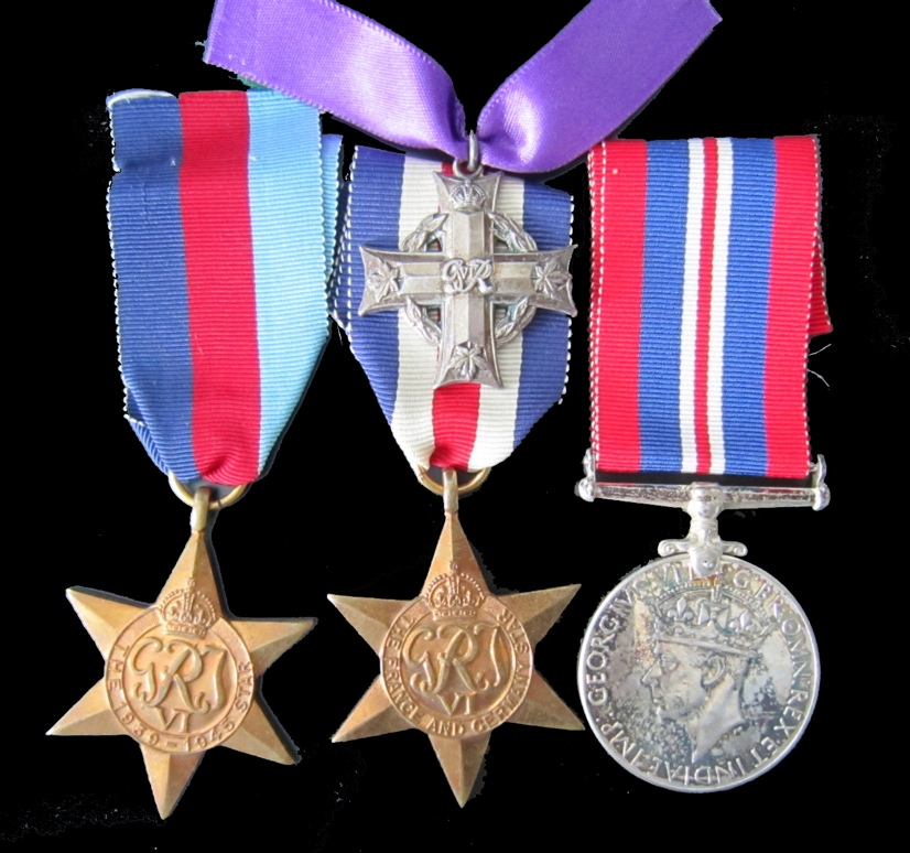 Medals– Medal awards of Private Collins