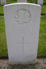 Grave marker– Photo submitted by Marg Liessens