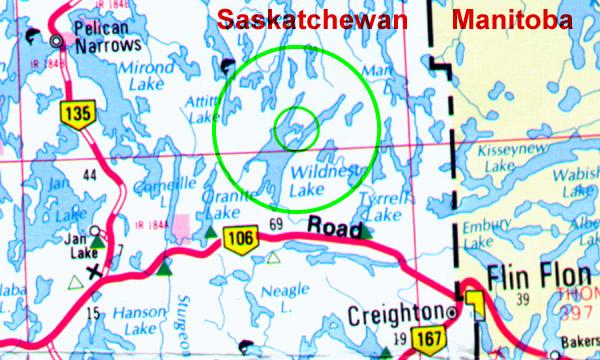 Schmidt Bay Road Map
