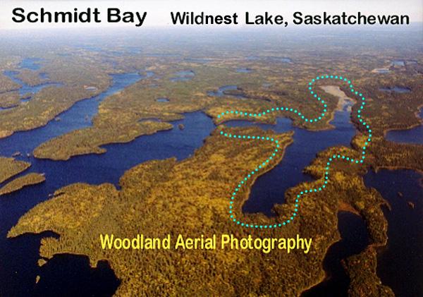 Schmidt Bay Aerial Photo