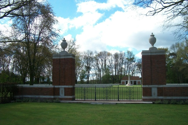 Entrance– Adegem Canadian War Cemetery - April 2017 … photo courtesy of Marg Liessens