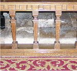 Altar rail– Altar rail at Lincoln Cathedral, England for Major Charles Hoey VC MC