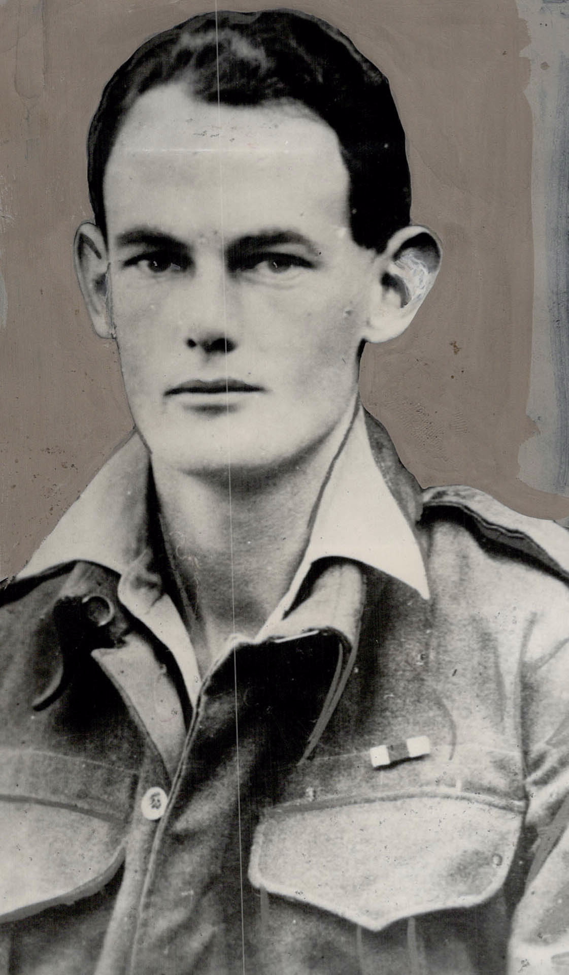 Photo of Charles Ferguson Hoey– Maj C F Hoey VC - from Toronto Public Archives