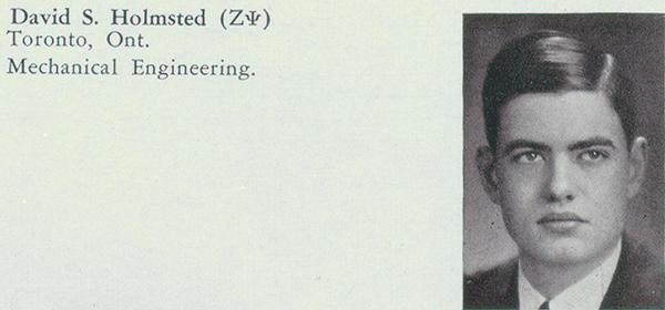 Photo– Photo from Torontonensis, University of Toronto yearbook, 1935