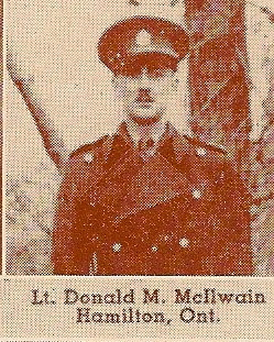 Photo of DONALD MELFORD MCILWAIN– Submitted for the project, Operation: Picture Me