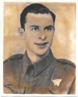Photo of ORVAL MCPARLAND– Service photo, which was displayed in the Royal Canadian Legion Branch 23 in North Bay, Ontario.