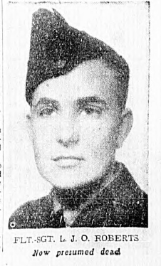Photo of LLOYD JOHN OSBORNE ROBERTS– In memory of the men and women memorialized on the pages of the Winnipeg Evening Tribune. Submitted for the project, Operation: Picture Me.