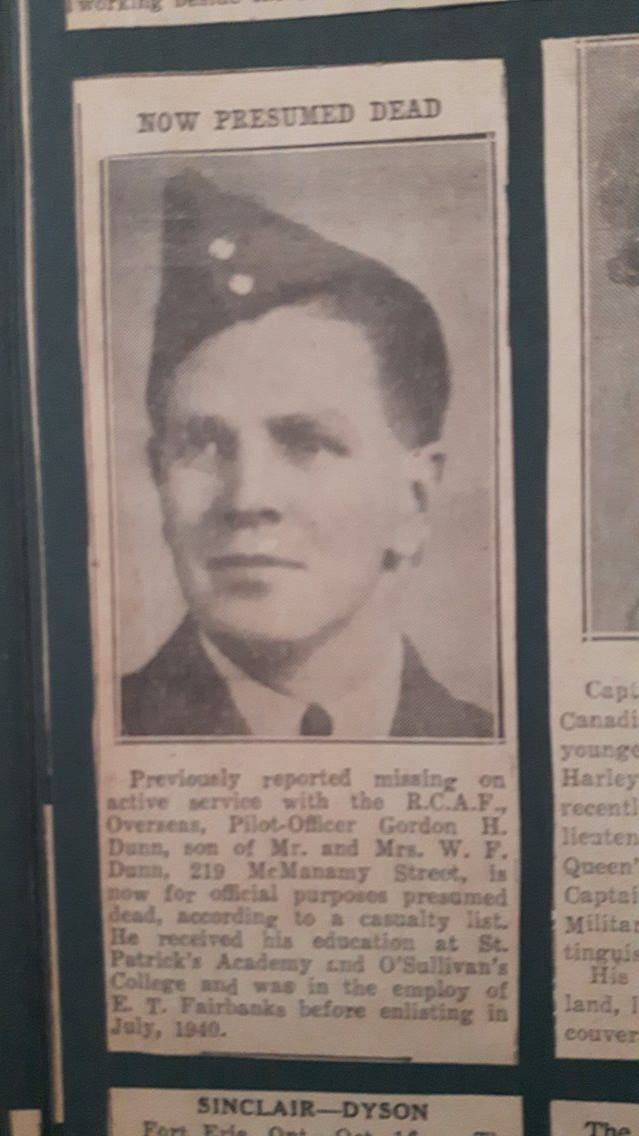 Newspaper Clipping– Newspaper clipping of service person. Found in grandmothers scrapbook.