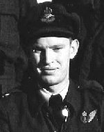 Photo of Frederick Alty– F/O Frederick Roy 'Roy' Alty, RCAF, was a crew member of Lancaster X KB-859, 431 'Iroquois' Squadron, 6 Group, Bomber Command. He died March 31, 1945 when his plane was shot down on a mission over Hamburg. KB-859 was coded SE-U, failed to return (SOC 31.3.45).