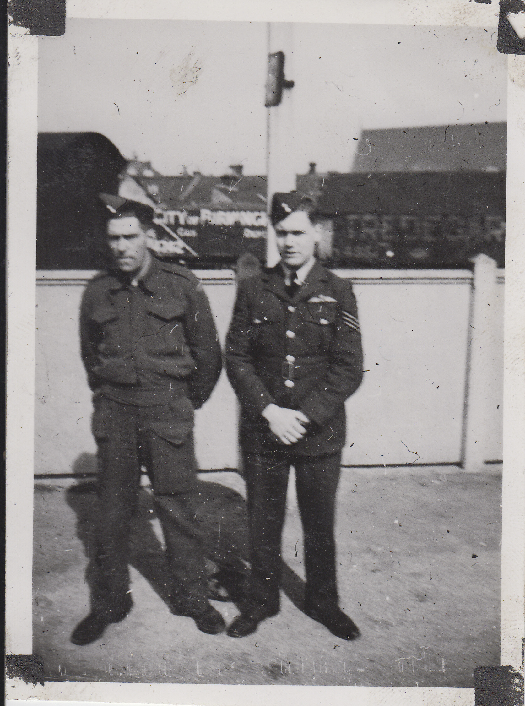 Group Photo– Talman with his Uncle in UK, both from Fertile, Saskatchewan.
